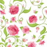 różowy kwieciste ilustracji
