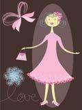 różowy miłe dziewczyny