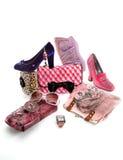 Różowy moda skład Zdjęcie Stock