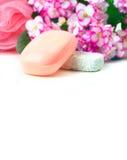 różowy mydło Zdjęcie Royalty Free
