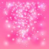 Różowy olśniewający tło ilustracji