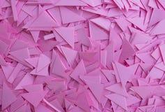 różowy papieru tło Obrazy Royalty Free