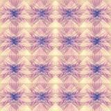 Różowy pastelowy abstrakcjonistyczny geometryczny tło wzór Obrazy Stock