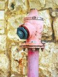 Różowy pożarniczy hydrant obrazy royalty free