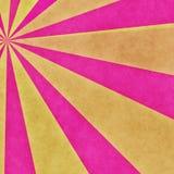Różowy promienia tło Obraz Stock