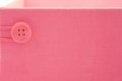 różowy pudełkowate Fotografia Stock