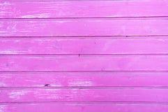 Różowy purpurowy drewniany lampasa tło Fotografia Royalty Free