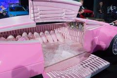 Różowy samochodowy łóżko Obraz Royalty Free