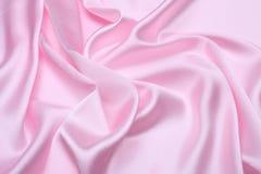 różowy satin tło Zdjęcia Royalty Free