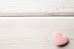 Różowy serce. zdjęcia royalty free