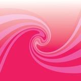 różowy skręt Fotografia Stock
