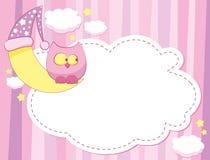 różowy szablon Zdjęcie Royalty Free