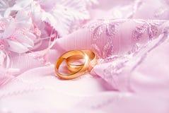 różowy tło ślub Obrazy Stock