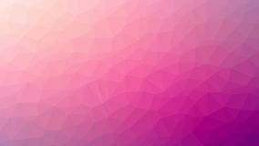 Różowy Triangulated tło Obrazy Royalty Free