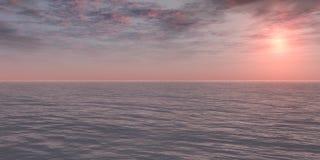 różowy wschód słońca Obraz Royalty Free