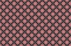 Różowych Błękitnych diamentów kwadratów abstrakta Geometryczny wzór ilustracja wektor