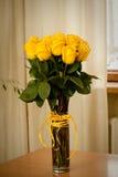 róży kolor żółty obrazy royalty free