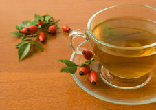 różana biodro herbata Zdjęcie Stock