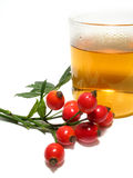 różana biodro herbata obrazy royalty free