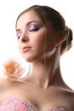 różana kobieta Zdjęcia Stock