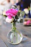 różana waza Zdjęcia Royalty Free