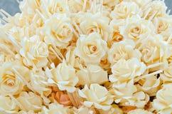 Różani drewno kwiaty Fotografia Royalty Free