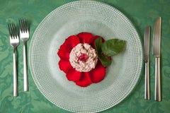 Różany risotto Zdjęcia Stock