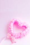 Różany serce Obraz Stock