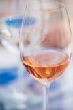 Różany wino Zdjęcie Royalty Free