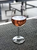 Różany wino Zdjęcia Royalty Free