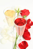 Róże romans Fotografia Royalty Free