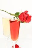 Róże romans Zdjęcie Royalty Free