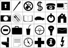 różne ikony royalty ilustracja