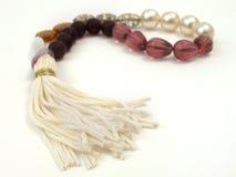 różne kolory koraliki sznurek Zdjęcie Royalty Free