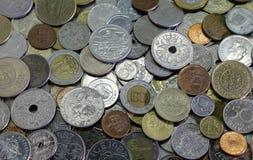 Różne monety fotografia royalty free