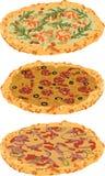 Różne pizze set Zdjęcie Royalty Free