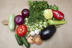 różne warzywa Fotografia Stock