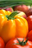 różne warzywa ustalonymi obraz stock