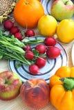 różne warzywa ustalonymi fotografia royalty free