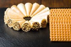 Różni cukierków torty Obrazy Royalty Free