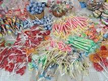 Różni cukierki Zdjęcie Stock