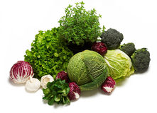 różni grupowi warzywa Zdjęcie Stock