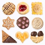 Różni handmade ciastka 3 Fotografia Royalty Free