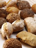 Różni typ bochenki chleb Fotografia Stock