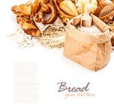 Różni typ chleb Zdjęcia Stock
