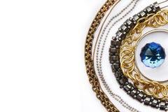 Różnicy srebro Zdjęcia Royalty Free