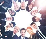 Różnorodna grupa ludzi z Copyspace Zdjęcie Royalty Free