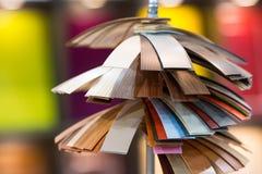 Różnorodne kolor próbki Fotografia Stock