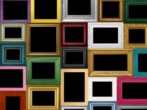 Różnorodne obrazek ramy Zdjęcia Stock