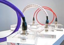 różnorodni kabli colours Zdjęcie Royalty Free